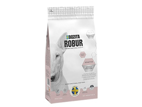 BOZITA Robur Sensitive Single Protein Salmon 0,95kg