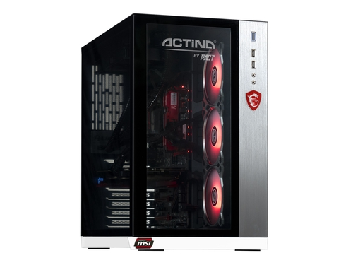 Komputer stacjonarny Actina by PACT Core i5-8600K Intel® GeForce GTX1060 16GB 1TB + 250GB Win10 + drukarka TS5050