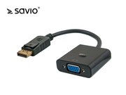Adapter Video Savio CL-90 Displayport-VGA.