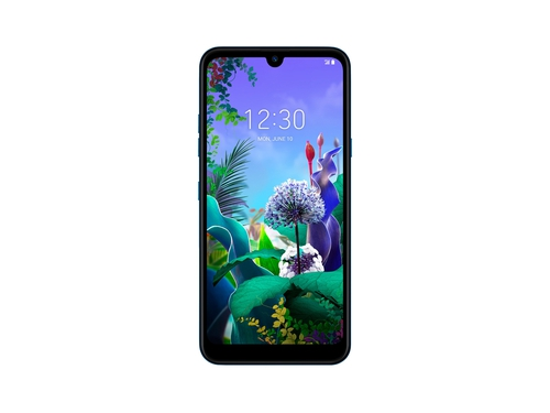 Smartfon LG Q60 64GB Blue WiFi Bluetooth GPS NFC DualSIM 64GB Android 9.0 kolor niebieski