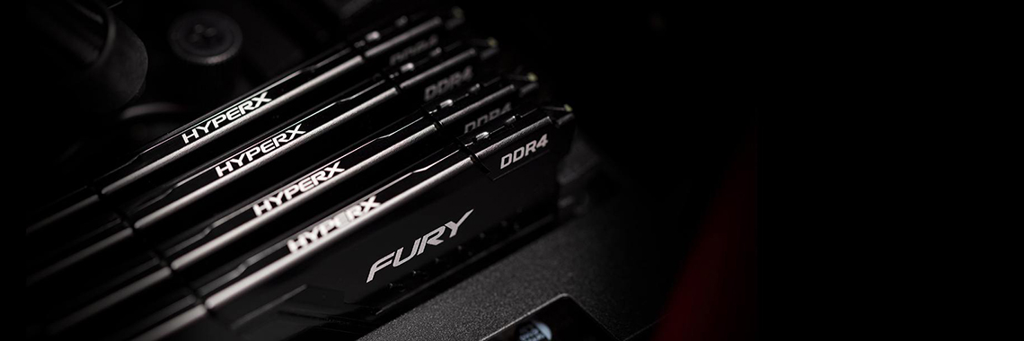 #KINGSTON HyperX FURY DDR4 2x16GB 3200MHz Black