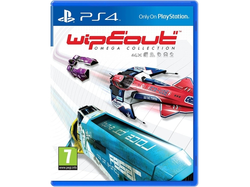 Gra PS4 WipEout Omega Collection - 0711719847465