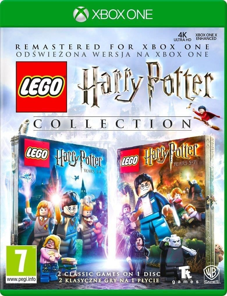 Gra Xbox One Wersja Box Lego Harry Potter Collection Cena Opinie
