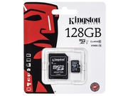 Karta pamięci z adapterem MicroSD Kingston 128GB Class 10 SDC10G2/128GB