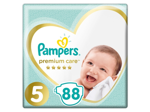 Pampers pieluchy PC Mega Box S5 Junior 88szt