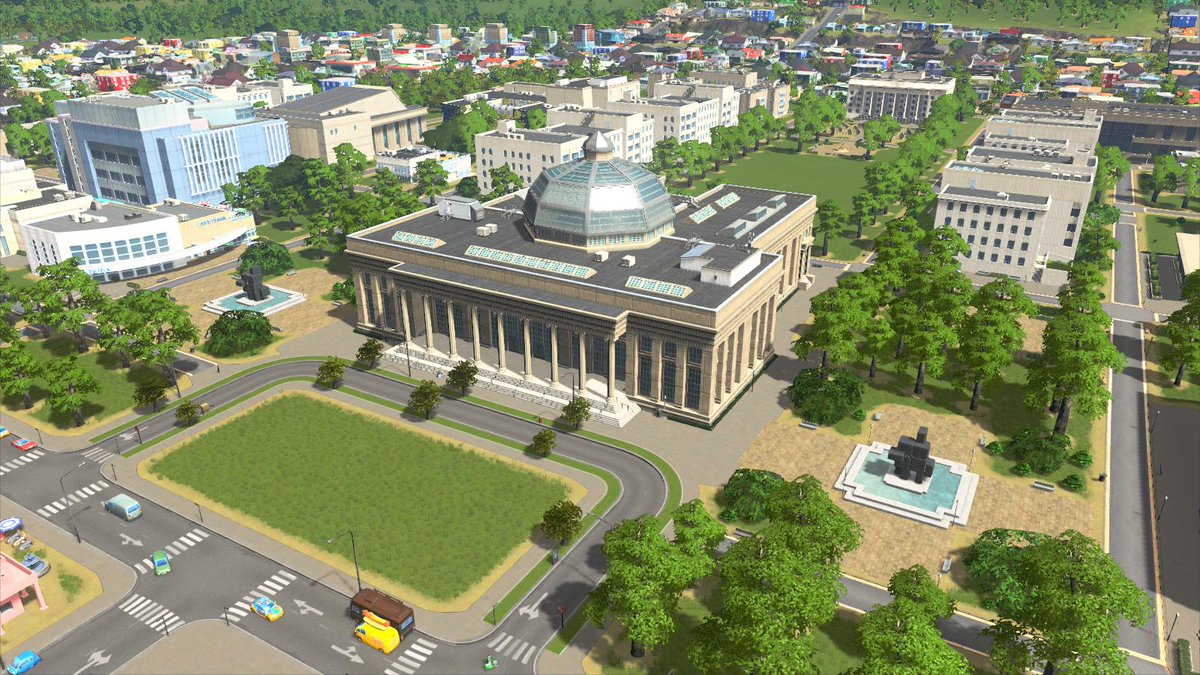 #Cities Skylines Campus