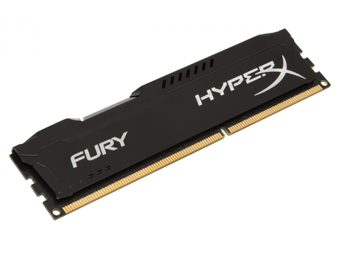 Pamięć RAM Kingston HyperX FURY DDR3 1866 MHz 4GB CL10 Czarny - HX318C10FB/4