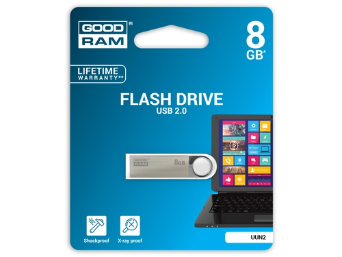 Pendrive GoodRam 8GB USB 2.0 UUN2-0080S0R11