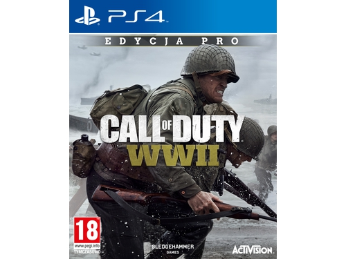 Gra PS4 Call Of Duty: WWII PRO