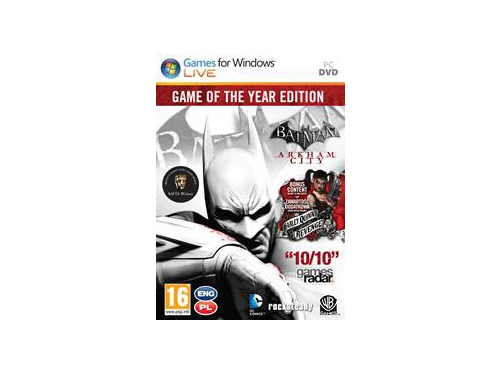 Gra PC Batman: Arkham City: Game of the Year Edition - - wersja cyfrowa