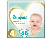 Pampers pieluchy Premium care JP Maxi 4 68szt