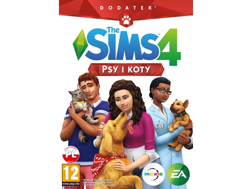 Gra PC The Sims 4: Psy i Koty