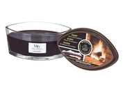 Świeca WoodWick Hearthwick Flame - Black Cherry - 5038581056821