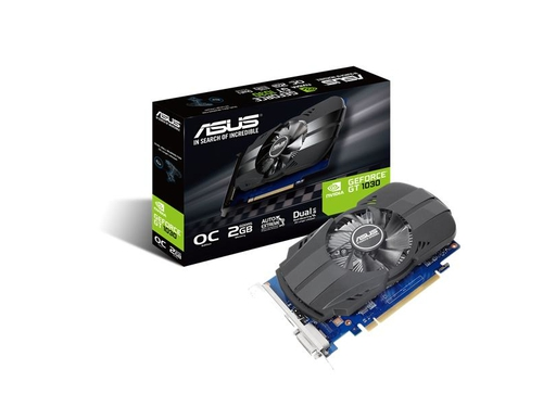 ASUS Phoenix GeForce GT 1030 OC 2GB 64B GDDR5 - PH-GT1030-O2G