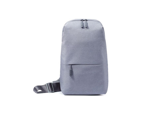 "Plecak na tablet 7"" XIAOMI Mi City Sling Bag Light Grey kolor jasnoszary"