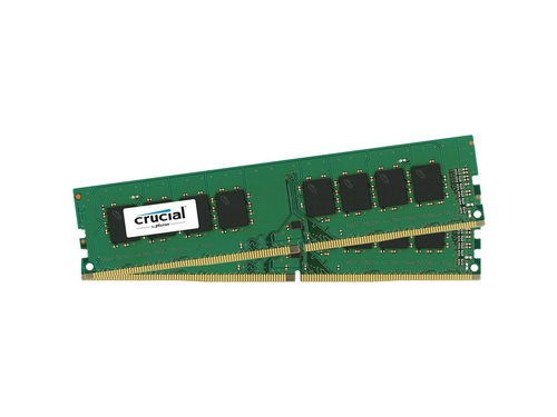 Crucial 2x4GB 2400MHz DDR4 CL17 Unbuffered DIMM - CT2K4G4DFS824A