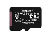 KINGSTON microSDXC Canvas Select Plus 100R + ADP - SDCS2/128GB