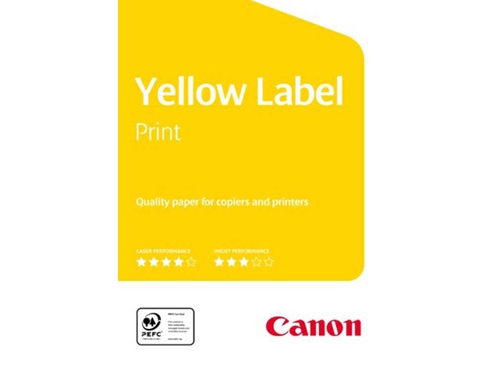 Papier Xero Canon 5897A022 Yellow Label A4 Matowy
