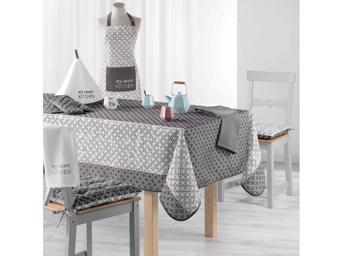 Obrus NAPPE 150X200 Lucie Gris - ROM201