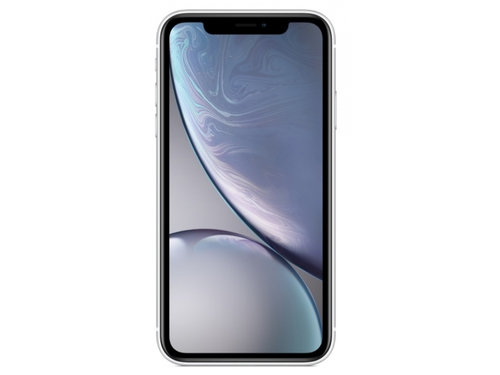 Smartfon Apple iPhone XR 64GB White Bluetooth WiFi GPS LTE Galileo DualSIM 64GB iOS 12 kolor biały