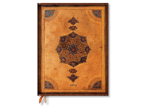 Paperblanks Kalendarz 2019 Safavid Ultra Day - 9781439749623