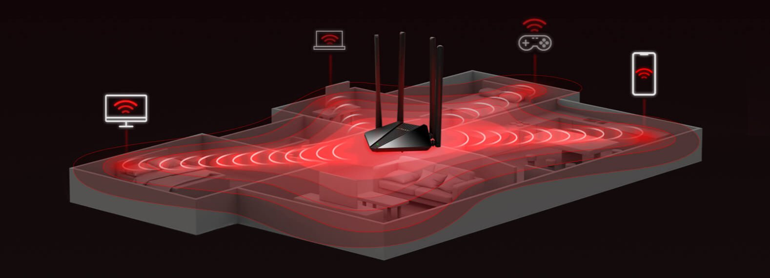Router Mercusys MR30G4