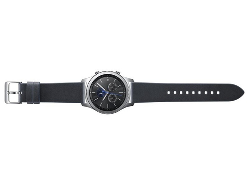 Pasek Samsung do Gear S3 Classic Leather Band grafitowy ET-YSL76MNEGWW - BSS - ET-YSL76MNEGWW_BSS