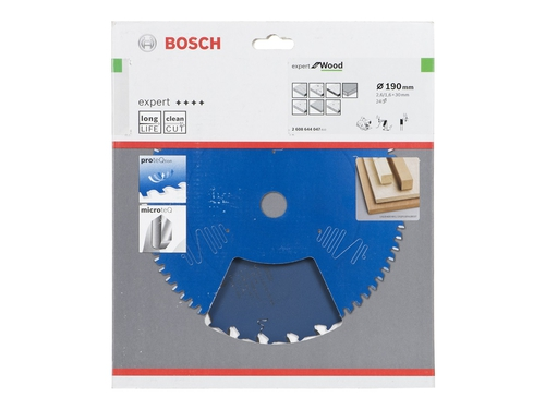 Tarcza pilarska for wood 190mm BOSCH - 2608644047
