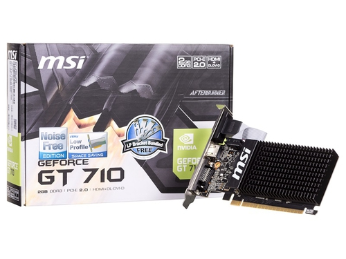 Karta graficzna MSI GeForce GT710 GT 710 2GD3H LP LowProfile 2GB