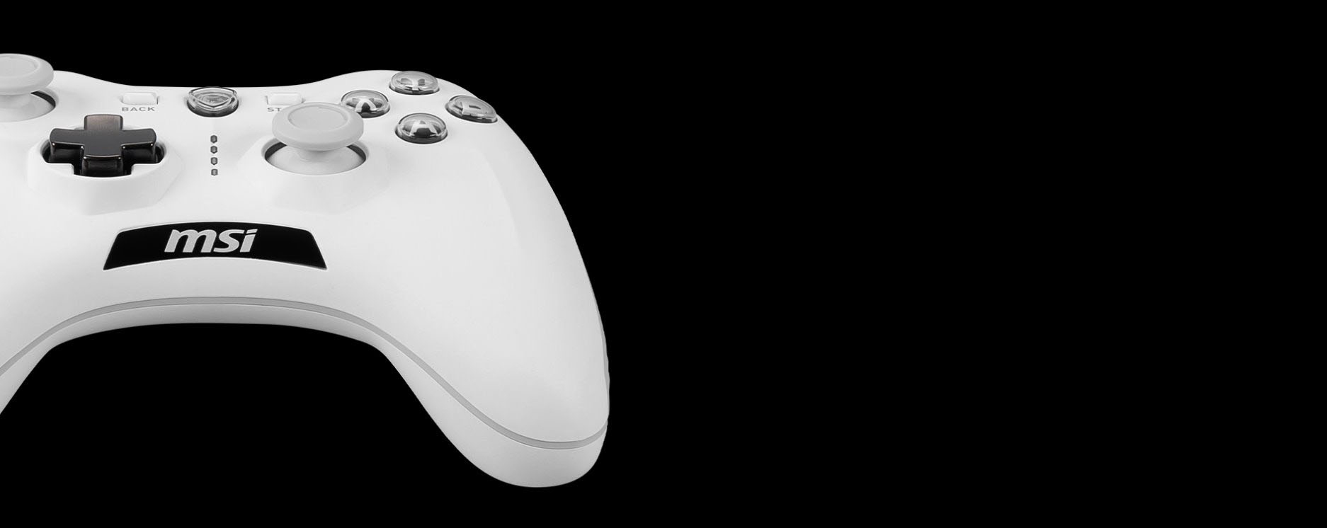 PAD MSI FORCE GC30 V2 WHITE GAMING CONTROLLER7