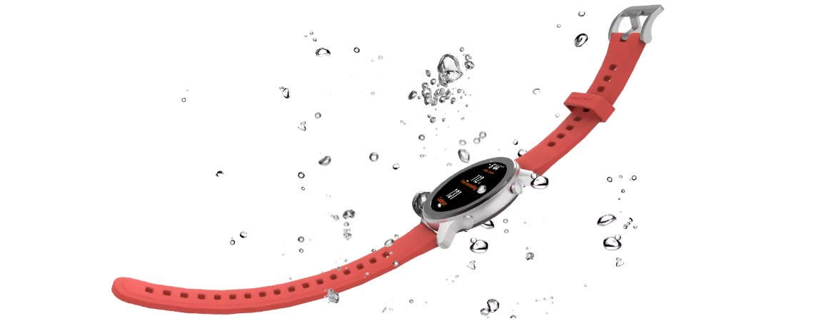 #Smartwatch Huami Amazfit GTR-42mm Starry Coral Red