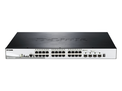 D-link DGS-1520-28XMP 28-Port ,POE Managed Switch - DGS-1510-28XMP