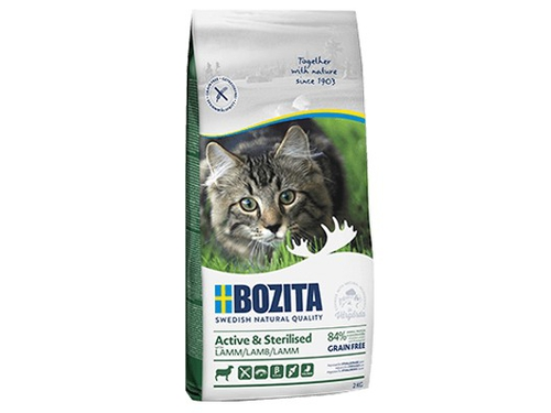 Bozita Active&Sterilised Grain free Lamb 0,4kg