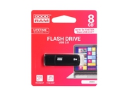 Pendrive Goodram Flashdrive Mimic 8GB USB 3.0 czarny - UMM3-0080K0R11