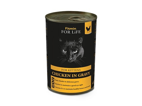 FITMIN For Life cat tin chicken 415 g