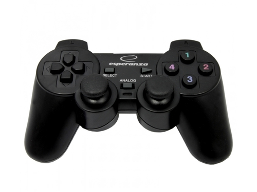 Gamepad Esperanza EG102 do PC/PS3 USB z wibracjami