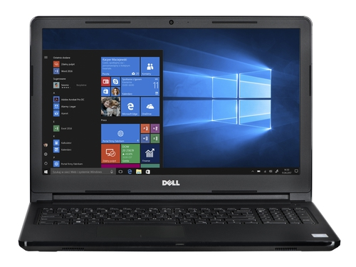Dell i3573-P269BLK N5000/15.6/4/256SSD/W10 REPACK + Microsoft Office Home and Business 2019 T5D-03205 1 stan. - i3573-P269BLK_256SSD