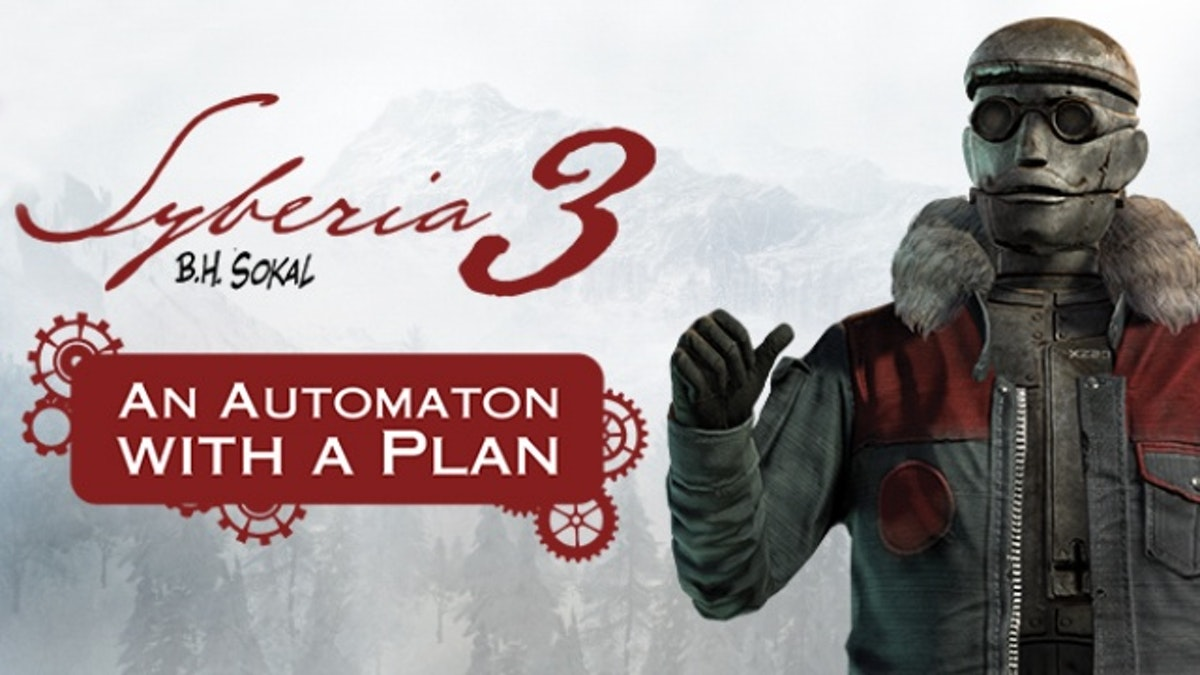 #Syberia 3 an automation with a plan