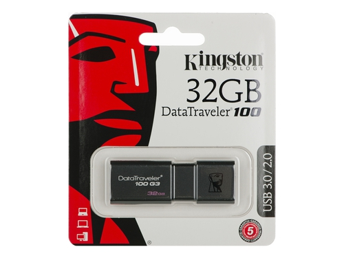 Pendrive Kingston DT100G3 32GB - DT100G3/32GB