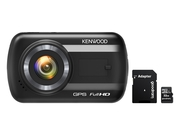 Wideorejestrator KENWOOD DRV-A201 - GPS + GOODRAM microSDHC 32GB class 10 UHS I + adapter