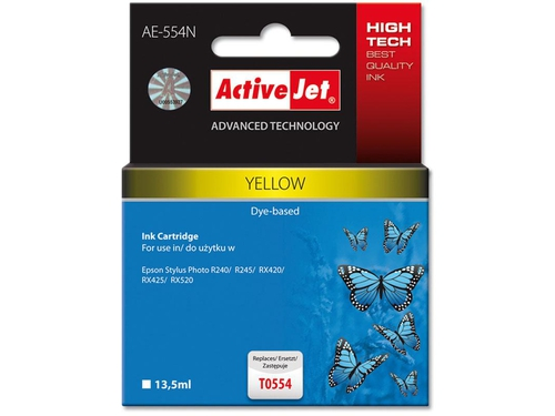 Activejet tusz Eps T0552 RX420/RX425 Cyan - AE-552N (AE-552)