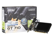 Karta graficzna MSI GeForce GT710 GeForce GT710 GT 710 1GD3H LP LowProfile 1GB GDDR3 1600 MHz 64-bit