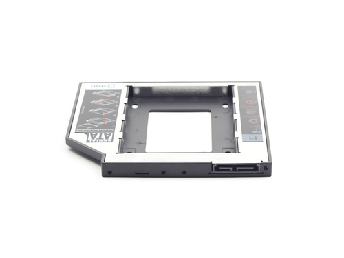 Gembird adapter/ramka montażowa HDD 5,25->2,5 slim 12mm (HDD/SSD zamiast CD/DVD w laptopie) - MF-95-02