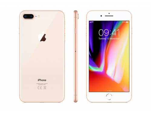 Smartfon Apple iPhone 8 Plus GPS Bluetooth LTE WiFi 256GB iOS 11 złoty