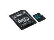 KINGSTON MICRO CANVAS GO UHS-I SDCG2/32GB+ADAPT