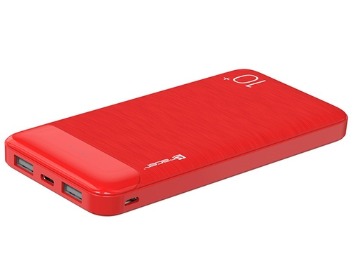 TRACER POWERBANK 10000 MAH SLIM RED TRABAT46803