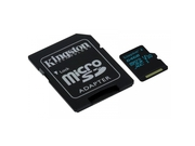 KINGSTON MICRO CANVAS GO UHS-I SDCG2/64GB+ADAPT