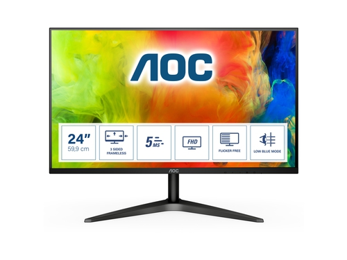 "MONITOR AOC LED 23,6"" 24B1H"