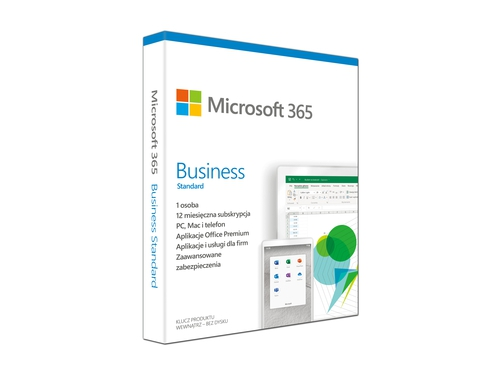 Microsoft 365 Bus Std Retail Polish Euro - KLQ-00472