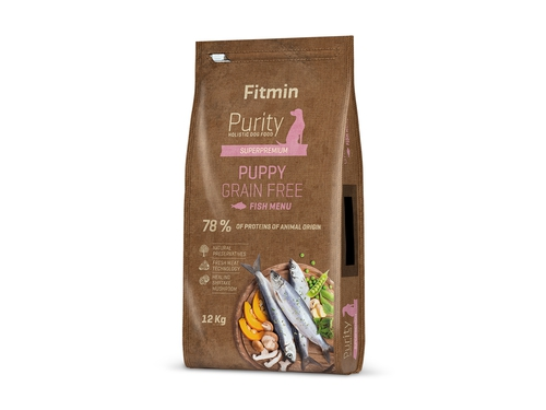 Fitmin Purity dog GF Puppy Fish 12 kg